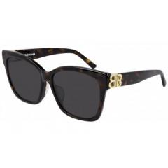 Balenciaga 102SA 002 TAM 57 - Oculos de Sol