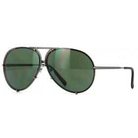 Porsche Design 8478 C Lentes Intercambiáveis - Óculos de Sol - Tamanho 66