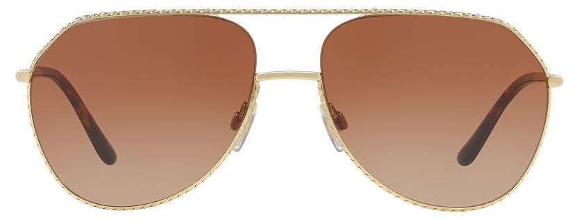 oculos dolce gabbana aviador marrom