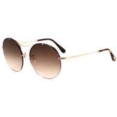 óculos tom ford redondo lente marrom