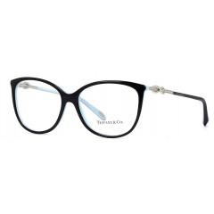 Óculos de grau Tiffany & Co Infinity TF2143 Preto Azul Turquesa