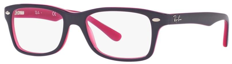 9649d45c6c23e armacao retangular infantil ray ban violeta rosa armacao retangular  infantil ray ban violeta rosa