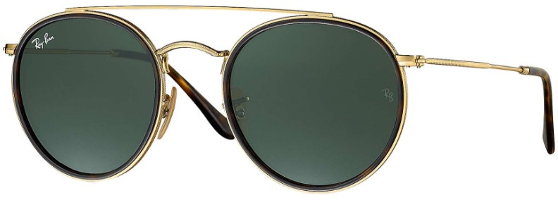 Ray Ban Double Bridge 3647N 001 - Óculos de Sol d0736ab272