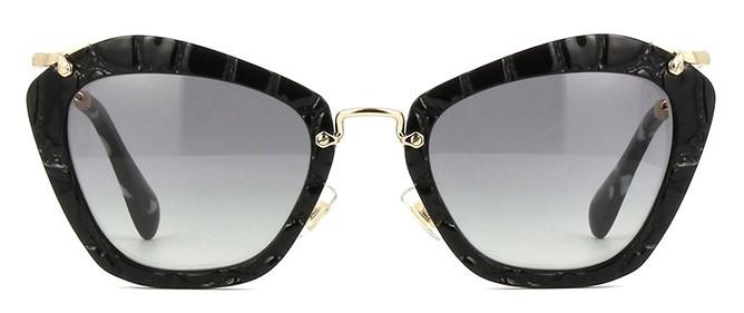 Miu Miu Noir 10NS USW3M1 - Óculos de Sol fdf0eb909a