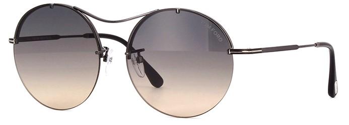 Tom Ford Veronique-02 565 08B - Óculos de Sol 6ecb1bb3d3