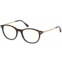 Tom Ford 5553B 052 Blue Block - Oculos de Grau