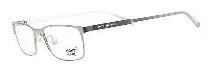 Mont Blanc 627 prata - Oculos de grau