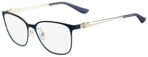 oculos de grau quadrado azul salvatore ferragamo