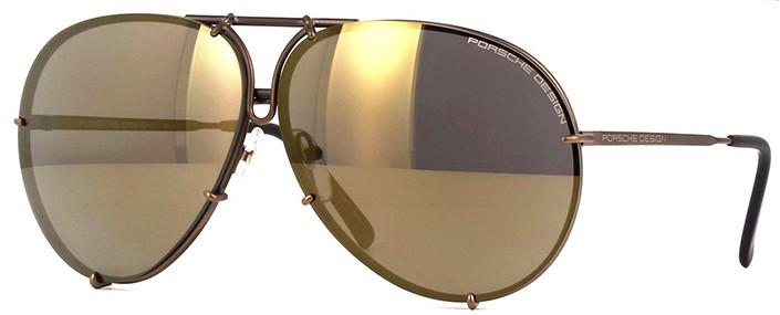 Porsche Design 8478 E Lentes Intercambiáveis - Óculos de Sol - Tamanho 69 444b51d768