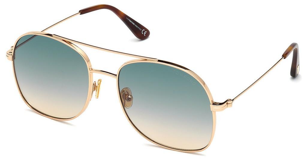 Tom Ford Delilah 0758 28P - Oculos de Sol