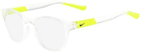 Óculos de grau adolescente Nike Transparente Neon Amarelo