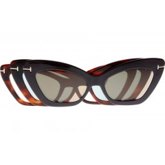 Tom Ford 5643B BLUE 052 CLIPON - Oculos de Sol
