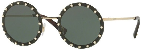 Óculos redondo cristais Valentino 2017 comprar