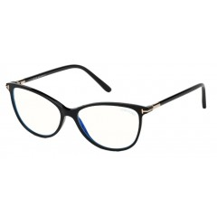 Tom Ford 5616B 001 Blue Block - Oculos de Grau