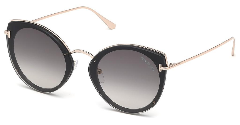 Tom Ford Jess 0683 01B - Oculos de Sol
