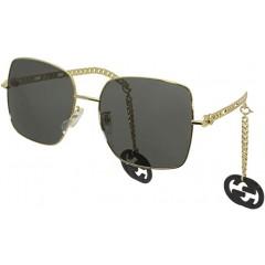 Gucci 0724 001 - Oculos de Sol