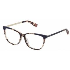 oculos de grau furla azul havana areia