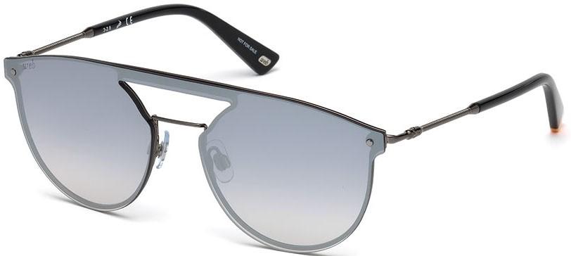 Óculos de sol Web 193 Cinza Prata