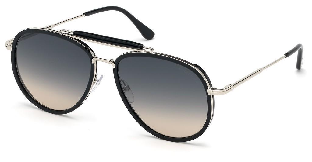 Tom Ford Tripp 0666 01B - Oculos de Sol