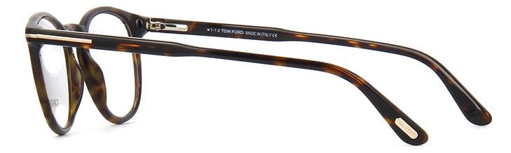 0a07cfc75162f ... Armação óculos Tom Ford Redonda Tartaruga Marrom Comprar