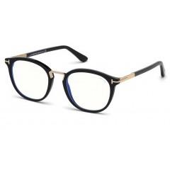 Tom Ford 5555B 001 Blue Block - Oculos de Grau