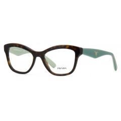 Óculos de grau Prada marrom verde