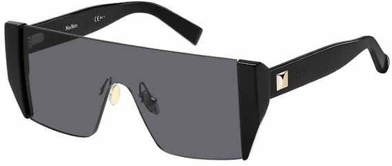 Óculos Max Mara Lina Preto Shield Mascara Comprar
