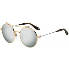 Óculos Redondo Givenchy Dourado Prata Espelhado Comprar
