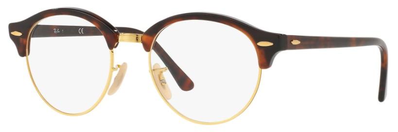 6e3eb07c5 Ray Ban Clubround 4246V 2372 - Óculos de Grau