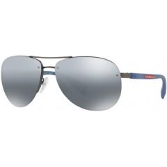 oculos de sol prada sport aviador espelhado