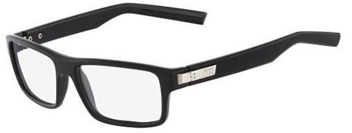 Óculos de grau Nike Retangular Preto