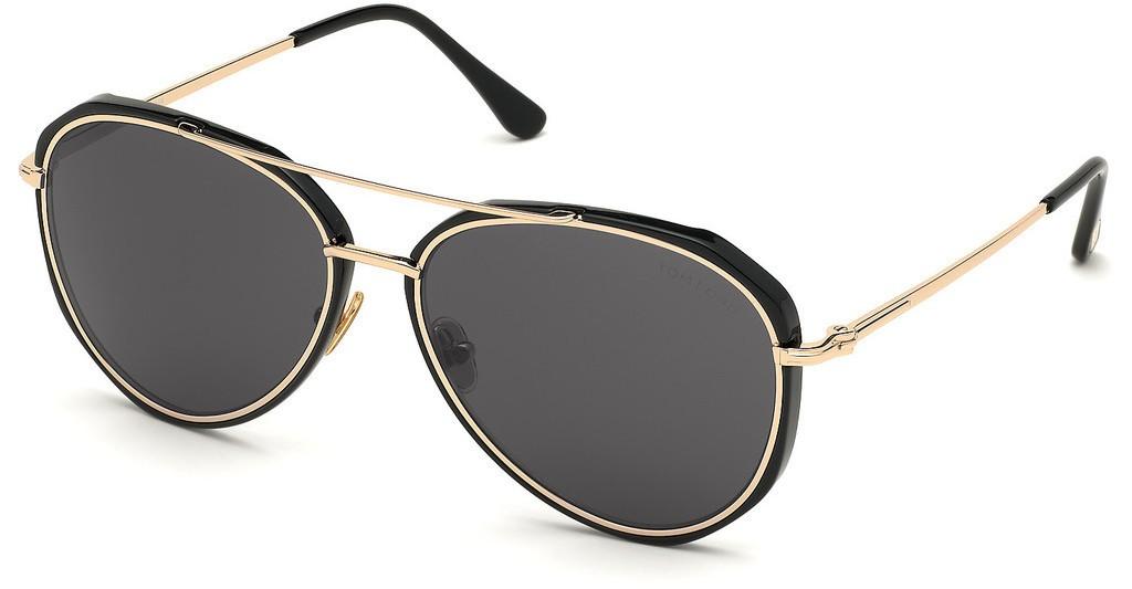 Tom Ford Vittorio 0749 01A - Oculos de Sol