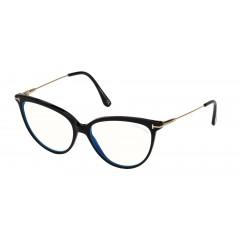 Tom Ford 5688B 001 Blue Block - Oculos de Grau