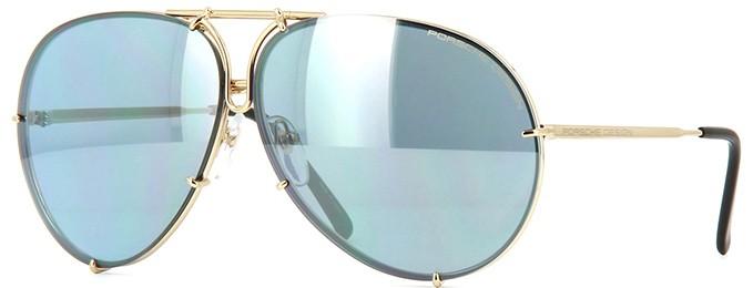 aaa3e8c26988f Porsche Design 8478 A Lentes Intercambiáveis - Óculos de Sol - Tamanho 69