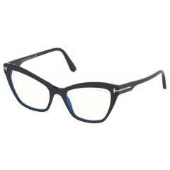 Tom Ford 5601B 001 Blue Block - Oculos de Grau