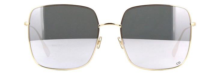 Óculos Dior Stellaire Dourado Lente Prata Espelhada Comprar Original