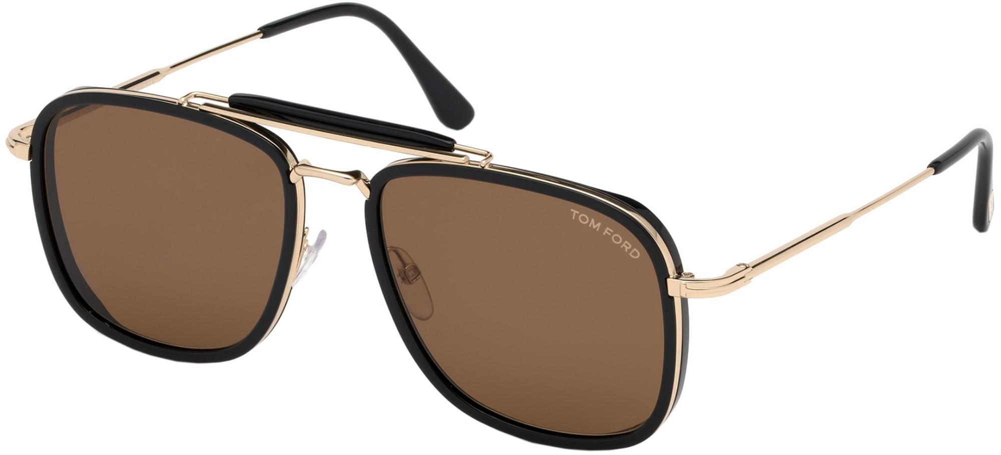 Tom Ford Huck 0665 01E - Oculos de Sol