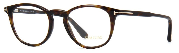 085b6168b6285 ... Armação óculos Tom Ford Redonda Tartaruga Marrom Comprar ...