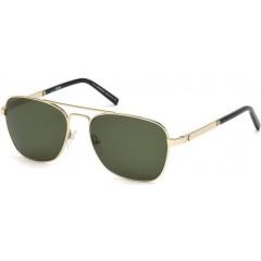oculos de sol montblanc three rings verde