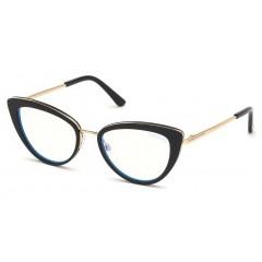 Tom Ford 5580B Blue Look 001 - Oculos de Grau