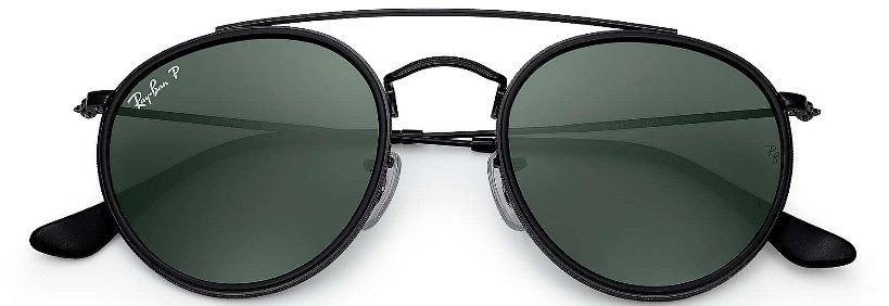 Ray Ban Double Bridge 3647N 002/58 - Óculos de Sol