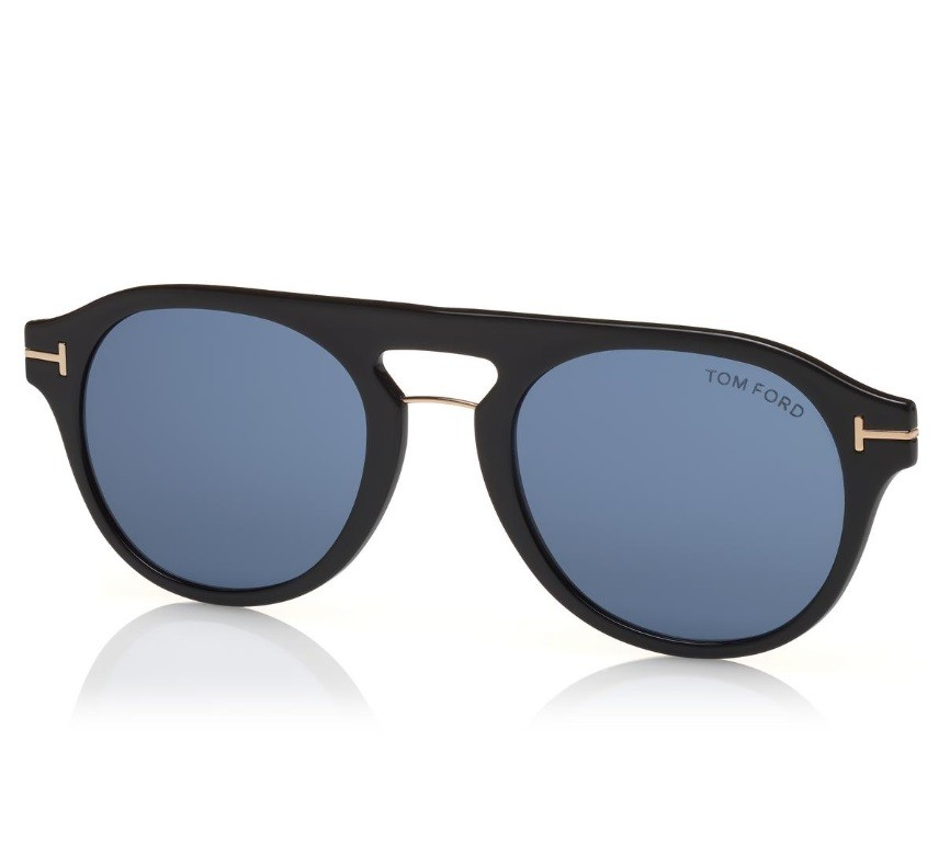 9aed48334 Tom Ford 5533B 01V Blue Look - Óculos e Clip On