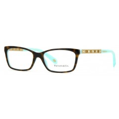 Óculos de grau Tiffany & Co New Atlas TF2103B Tartaruga Azul Turquesa