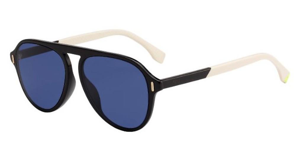 Fendi GLASS 55G 09QKU - Oculos de Sol