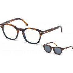 Tom Ford 5532B 56V Blue Block - Oculos  Clip On