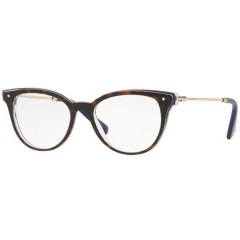 oculos armacao tartaruga azul valentino