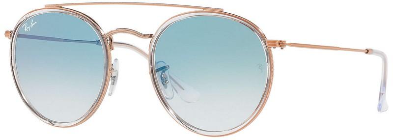 oculos ray ban double bridge 3647n azul