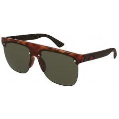 oculos de sol gucci 171 havana verde