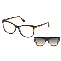 Tom Ford 5690B 056 BLUE BLOCK -  Oculos e Clip On