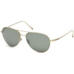 oculos de sol aviador montblanc titanio